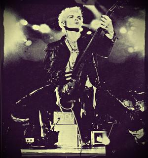 Billy Idol Live 1984 wolpeyper