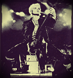 Billy Idol Live 1984 پیپر وال