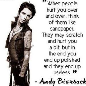 Andy Sixx frases