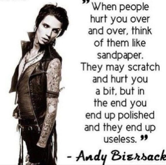 Andy Sixx Quotes - Black Veil Brides Photo (36754824) - Fanpop