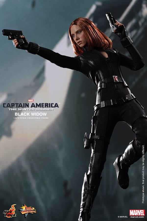 Captain America The Winter Soldier Black Widow Toy Poster