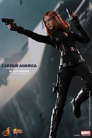 Captain America: The Winter Soldier - Black Widow Toy Poster