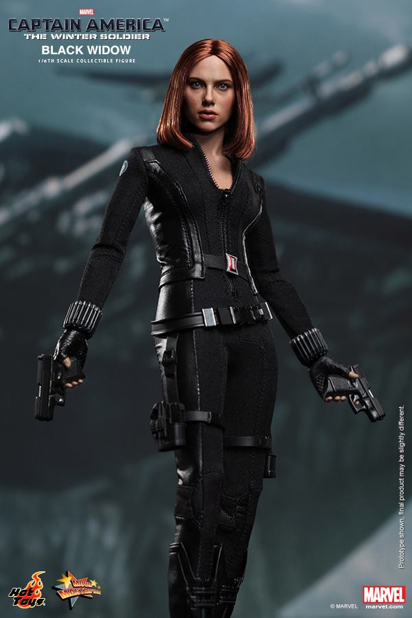 Captain America: The Winter Soldier - Black Widow Toy ...