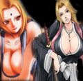tsunade and matsumoto - bleach-anime photo