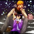 Ichigo and Rukia - bleach-anime fan art