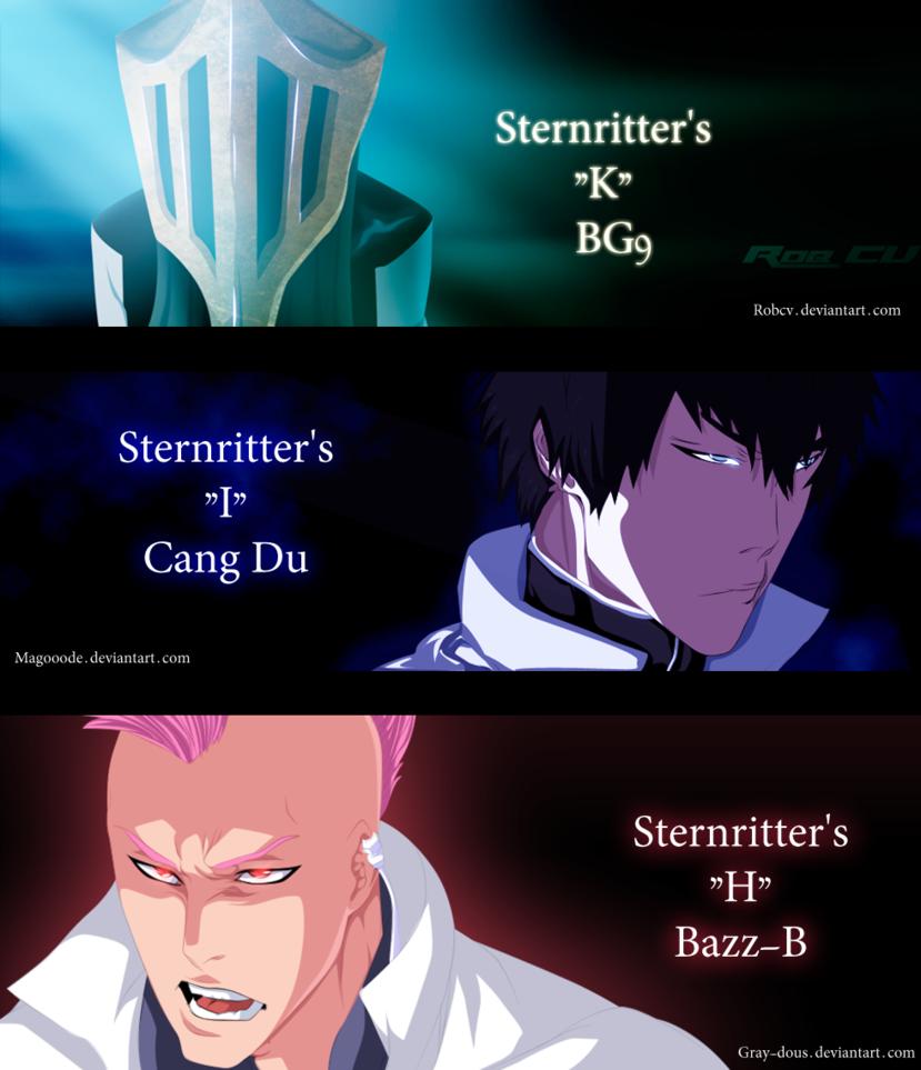 *Sternritters*