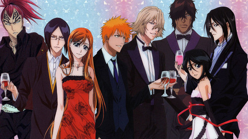 Bleach Anime wallpaper entitled bleach-characters