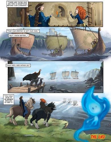 Merida - Legende der Highlands Hintergrund possibly with a sign titled Merida - Legende der Highlands Comic