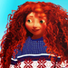 Merida Winter Look - brave icon