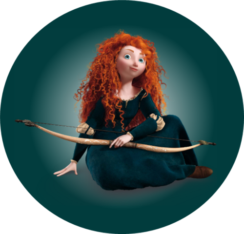 Ribelle - The Ribelle - The Brave wallpaper titled Princess Merida