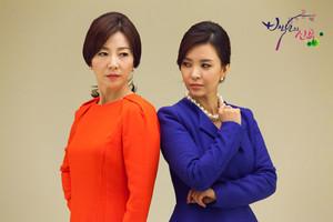 Kim Myeong Hee and Ma Jae Ran