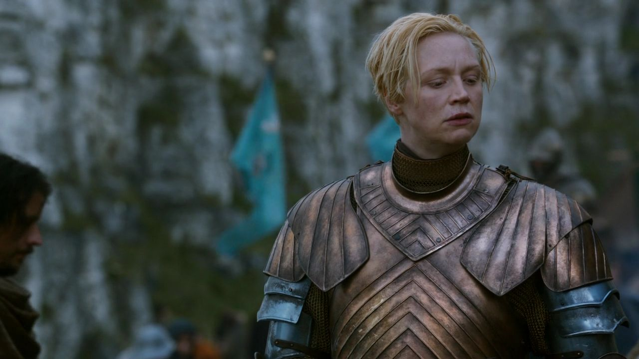 lady brienne how tall