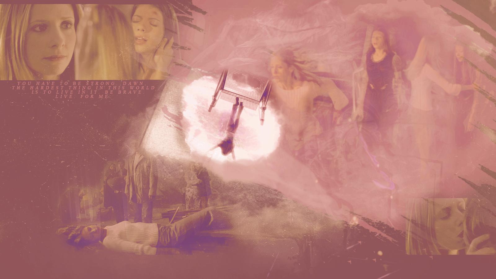 Buffy and Dawn