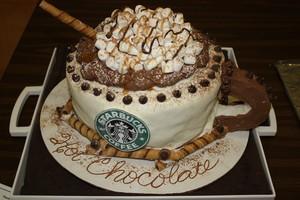 bintang bucks shape cakes