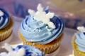 Frozen cupcake