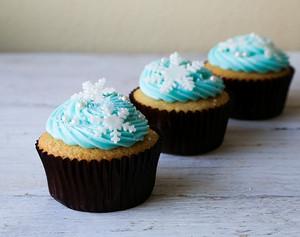 겨울왕국 컵케익