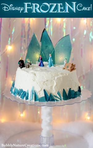 ফ্রোজেন Cake