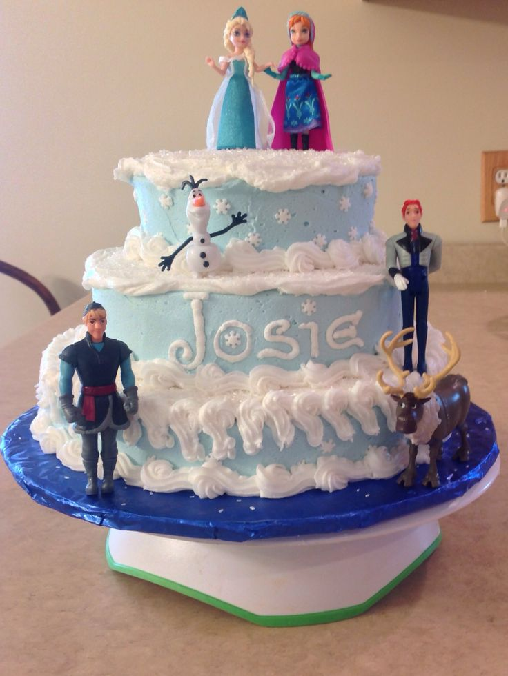 Birthday Cake Ideas Disney Frozen ~ Frozen cake cakes photo  fanpop