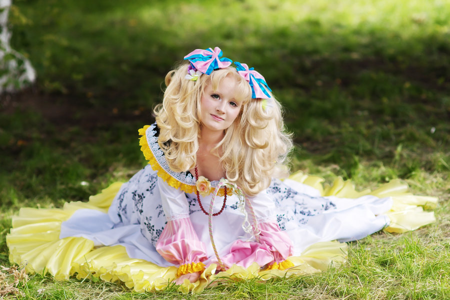 doces doces cosplay