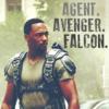 Agent. Avenger. Falcon.