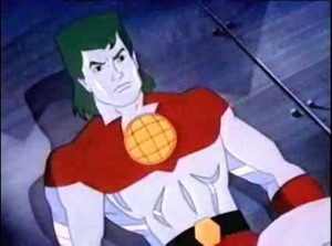 Captain planet angry