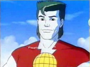 Captain Planet worried