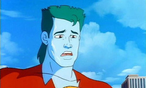 Captain Planet sad