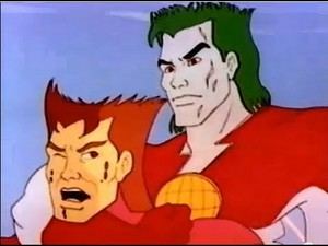 Captain Planet and Captain pollution