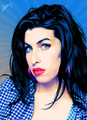 Amy Winehouse - celebrities-who-died-young fan art