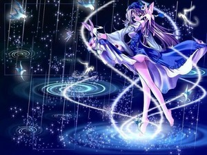 Magical nightcore girl