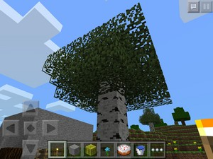 My mine craft chicken paradise garden