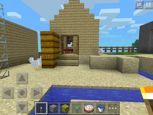 My mine craft chicken paradise house recreation