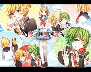 Funny and cute vocaloid comic