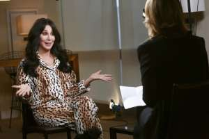 Cher Doing An Interview