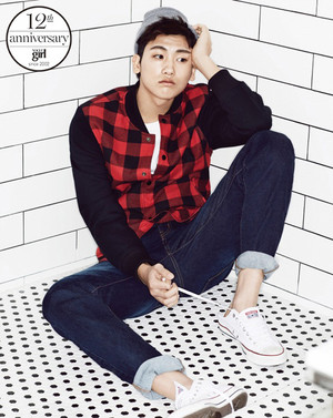 Park Hyung Sik Vogue Girl Korea March 2014