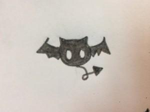 Akuma; Meroko's pet bat