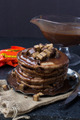 Chocolate Pancakes - chocolate photo