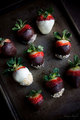 Chocolate Covered Strawberries  - chocolate photo