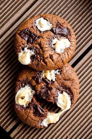 Schokolade kekse, cookies