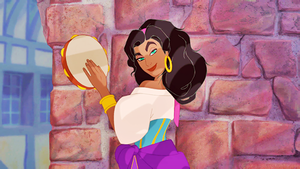 Disney Screencaps {Esmeralda}