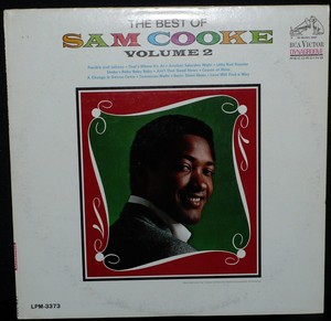 """RCA Sam Cooke Greatest Hits Compilation Release, """"The Best Of Sam Cooke: Volume 2"""""""