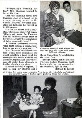 An bài viết Pertaining To Supremes Vocalist, Florence Ballard