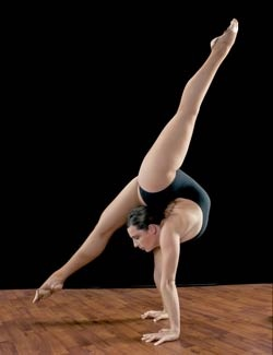 Hand stand split/contortion