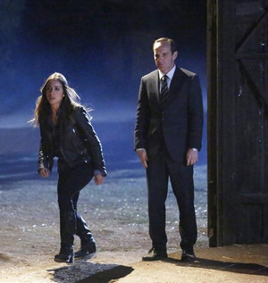 Skye and Coulson
