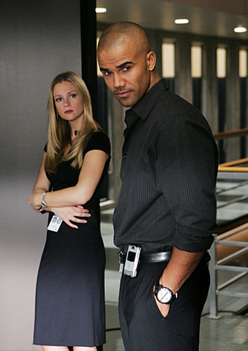 Criminal Minds wallpaper possibly with a business suit and a well dressed person called JJ and Derek - Damages