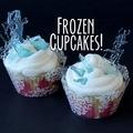 La Reine des Neiges cupcakes