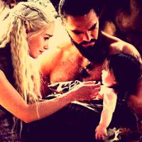 Drogo, Daenerys and Rhaego