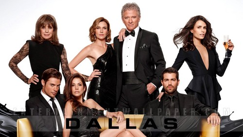 Dallas Tv Show wallpaper containing a business suit and a dress suit entitled Dallas Season 3 wallpaper ✔