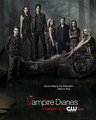 The Vampire Diaries Season 5 Poster - damon-and-elena photo