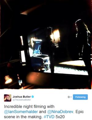 Epic scene in the making -tvd 5x20 Damon and Elena